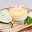 Thumbnail: Meeraboo Soy Candle - Gold Lid - English Pear + Freesia