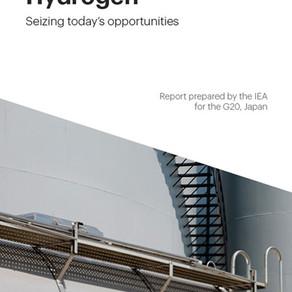 IEA lanza reporte de H2 para el G20