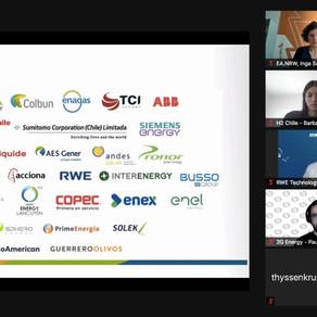 Exitoso evento B2B entre empresas chilenas y alemanas vinculadas al H2V