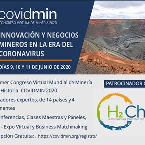 COVIDMIN 2020 y la Minería del Futuro: es el primer congreso virtual en el mundo de minería
