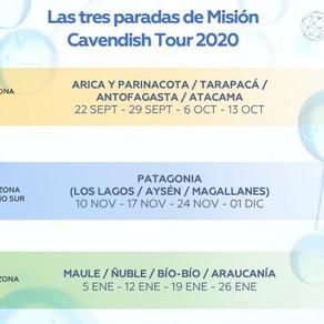Misión Cavendish Macro Zona Norte y Patagonia: destacan proyectos y ventajas competitivas de Chile