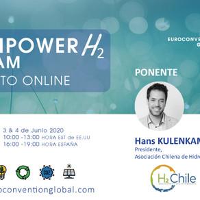 H2 Chile participa en Renpower H2 Latam