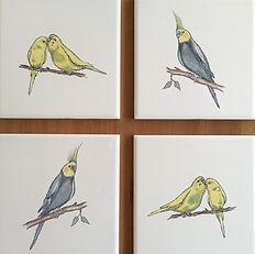 Single tile Bespoke bird tiles.JPG