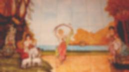 HANDPAINTED ART ON TILES BY E J TILE DESIGN