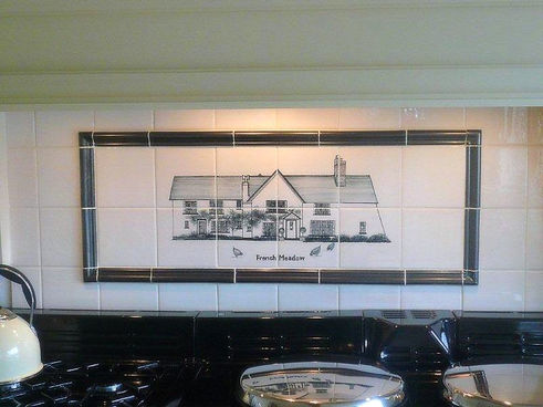House Tiles in Kitchen Situ