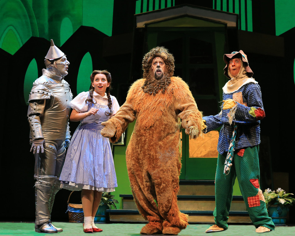 The Four Friends in OZ