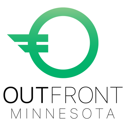 OutFront_Green_Vertical_Transparent_Logo