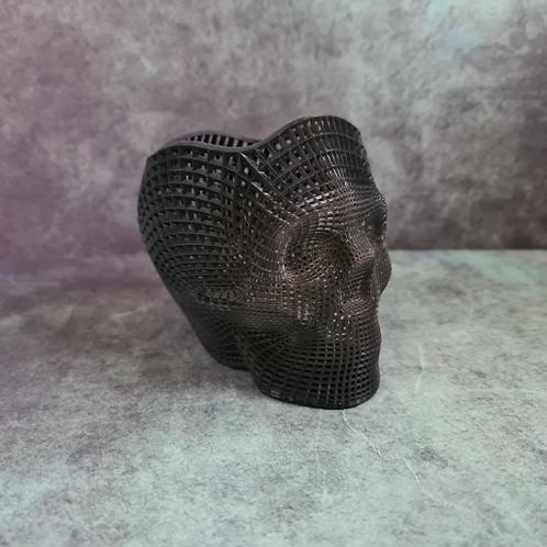 Wireframe effect Skull Pen / Pencil Holder
