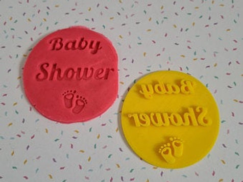 Baby Shower Fondant / Cookie Stamp