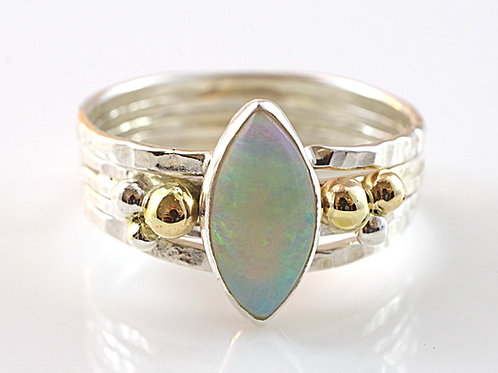 Marquis Opal Harem Ring