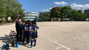 U12リーグ開幕 VS 小竹小SC.ロッソ