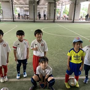 2021/6/27 U-8 練習試合