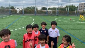 2021/6/5 低学年チーム 5人制練習試合