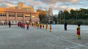 11月22日3.4年生 練習試合 VS渋谷JFC