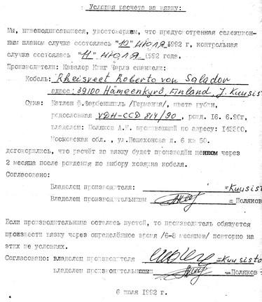 1992 год. Из архива А.И.Полякова