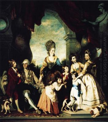Семья герцога Мальборо и любимые Кавалеры