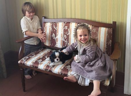 Новогодняя сказка собаки Капельки