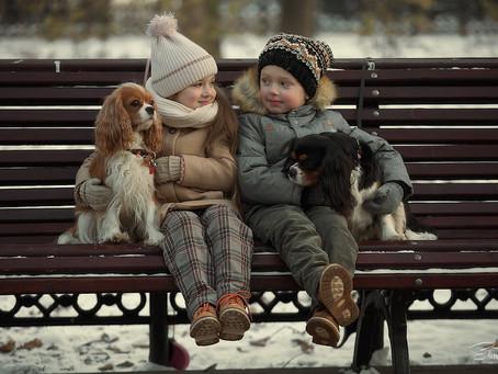 Не ругайте детей при собаке