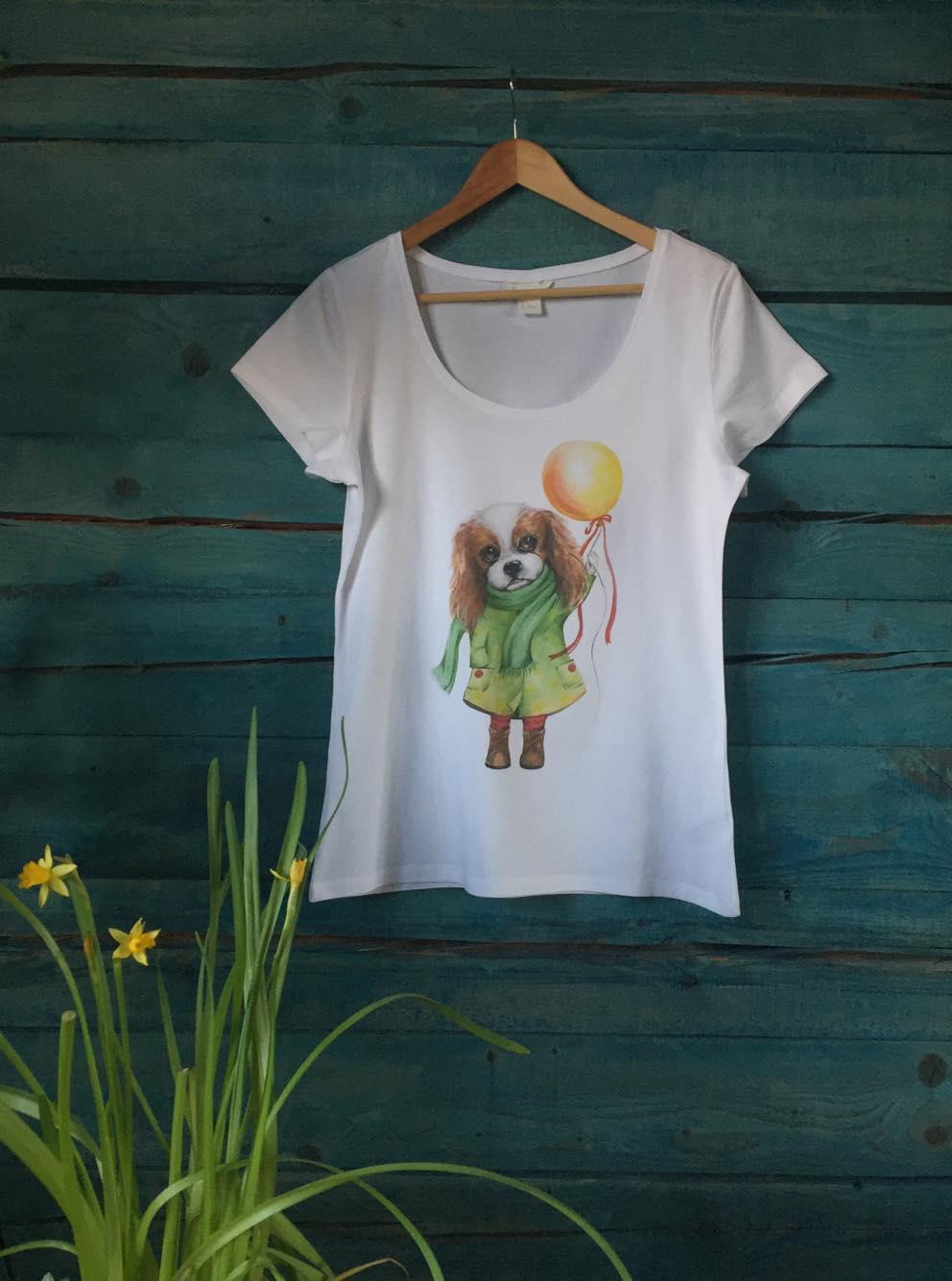 Женская футболка - Кавалерочка