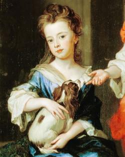 Девочка с кавалером 17 век