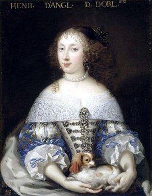 Королева и Кавалер 1660 год