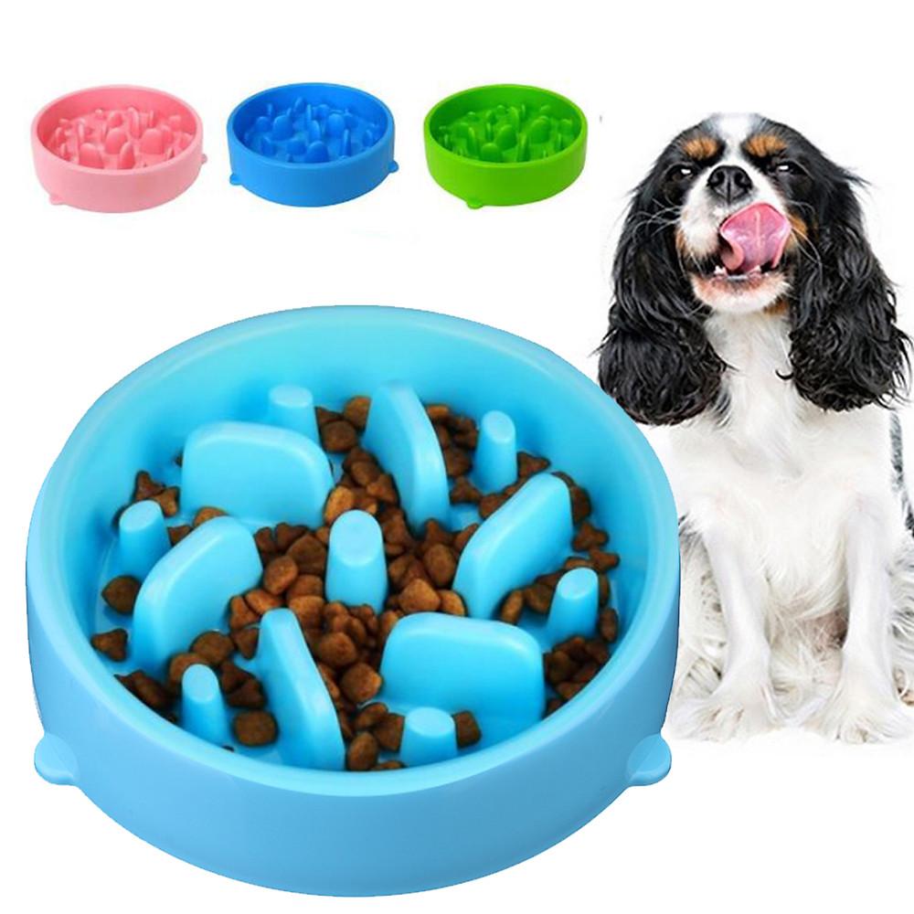 Миски для медленного кормления собак
