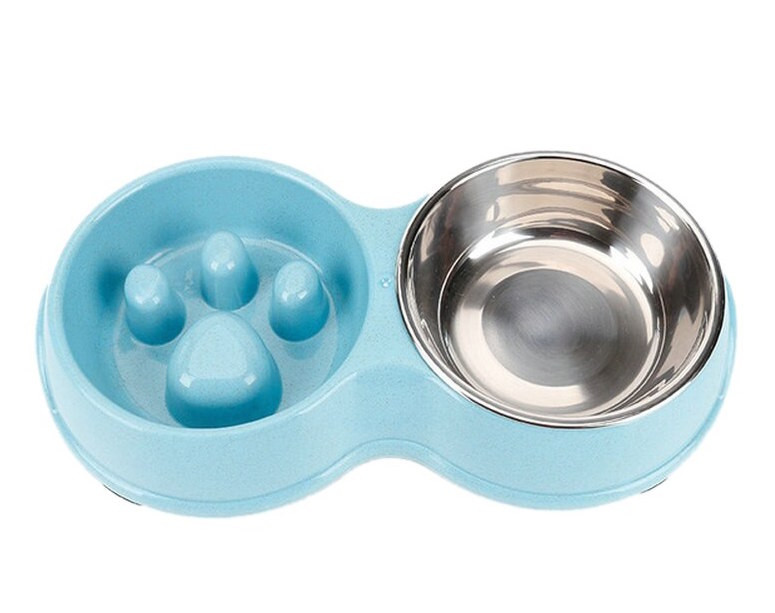 Железные миски для собак на подставке