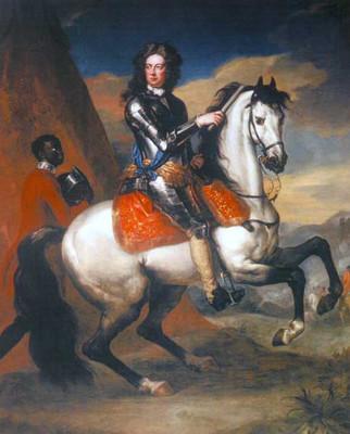 Герцог Мальборо на коне