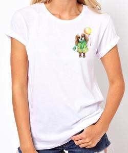 Женская футболка Кавалер