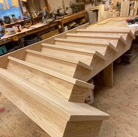 Custom Square Staircase, Custom Stairs,
