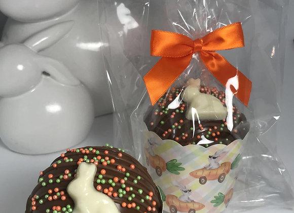 Hot Chocolate Cocoa Bomb/Milk Chocolate Single/Bunny Carrot Car Cup