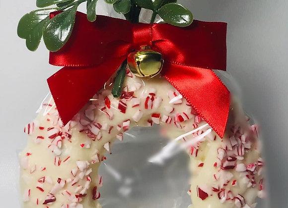 Peppermint Bark Wreath