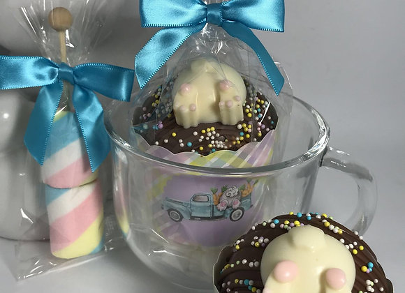 Hot Chocolate Cocoa Bomb Mug Gift Set