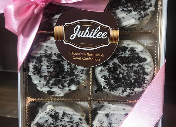 Chocolate Covered Oreos 1/2 Dozen Cookies & Cream