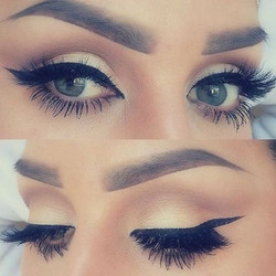 You can always manipulate & mimic the shape you want your brows to be