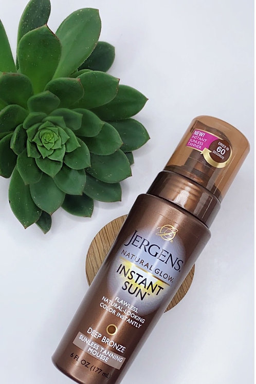 Jergens Natural Glow Instant Tanning Mousse