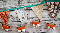 Bunting Banner and Fox Banner