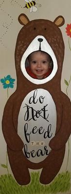 Painted Bear Photo Op/Bean Bag Toss