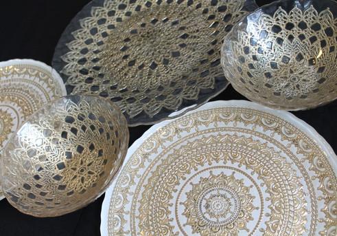 Glass Plates & Bowls