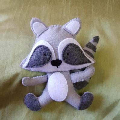 Felt Raccoon