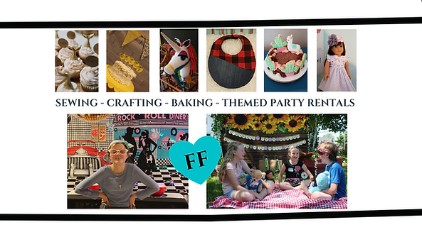 SEWING - CRAFTING - BAKING - THEMED PART