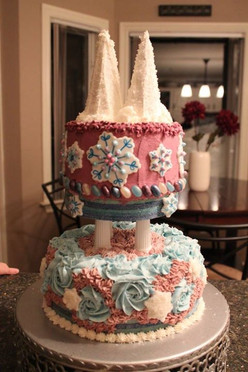 Princess Castle inspired by Frozen