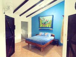 Blue cabina