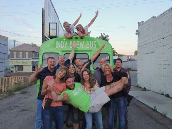 Indy Brew Bus tour