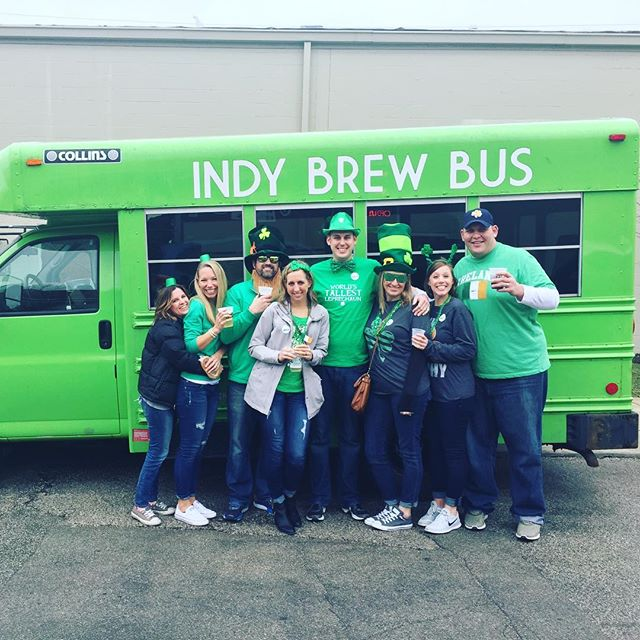 Indy Brew Bus turns SIX today! Happy St