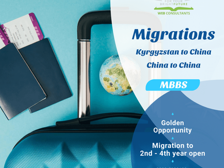 MBBS Migration to PMC A Listed Universities in China for Pakistani Students