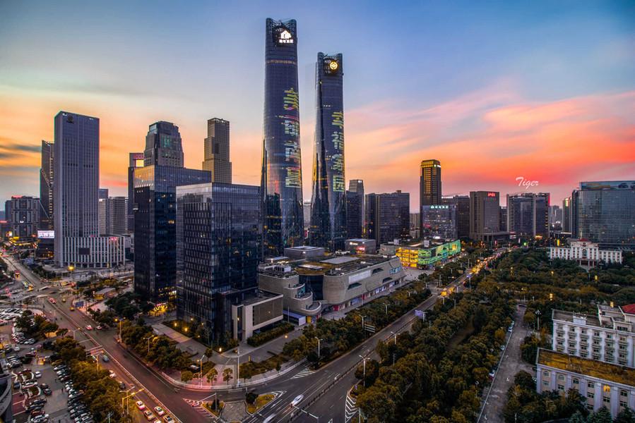 Nanchang City Evening View