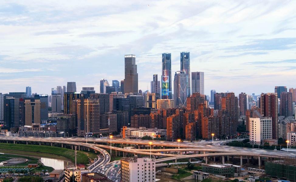 Nanchang city and road network