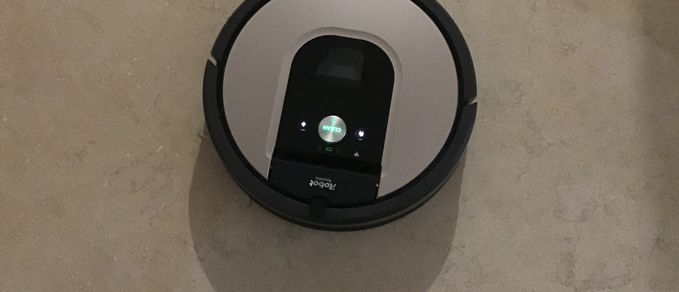 Daily cleaning by the IRobot Roomba v1.j