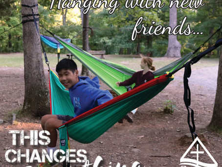 Hanging with New Friends changes everything
